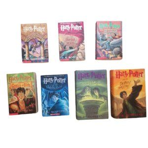 Complete Harry Potter Series w/ 2 First Editions